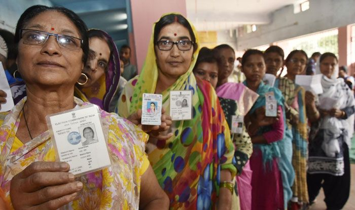 Polling in Jharkhand