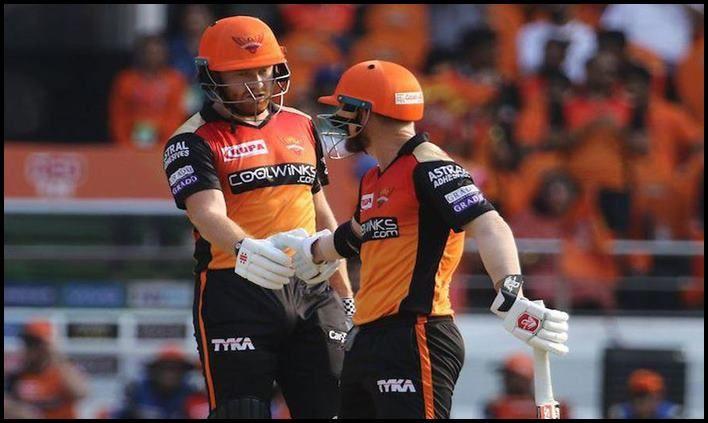 Jonny Bairstow and David Warner of Sunrisers Hyderabad_picture credits-Twitter