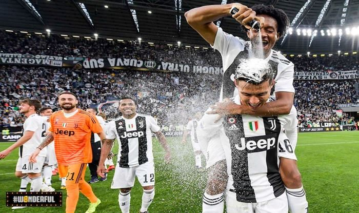 Juventus Wins Eighth Serie A title_picture credits- Official Juventus Twitter Account