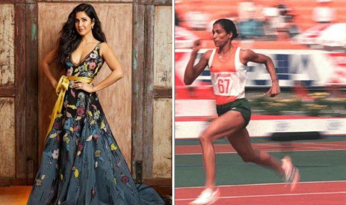 Katrina Kaif and PT Usha
