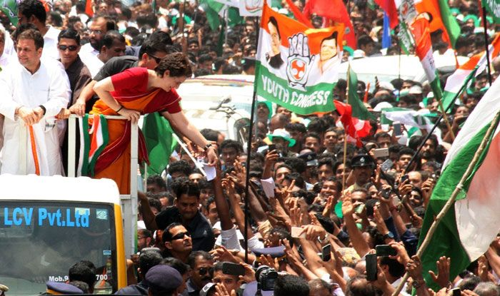 Campaigning in Kerala