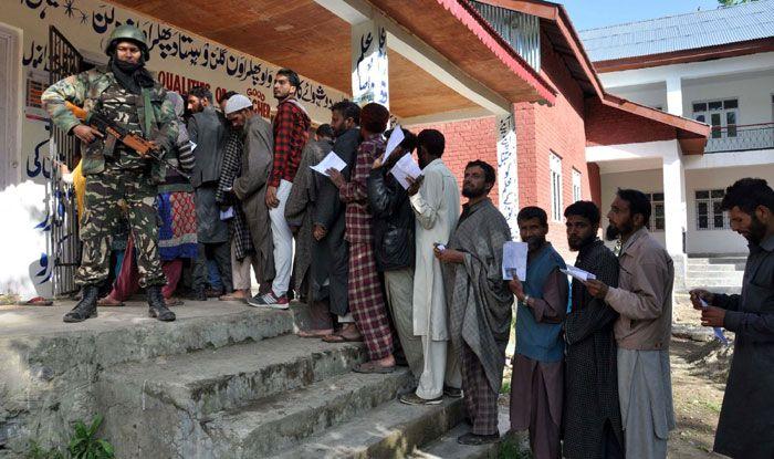 Polling in Kulgam
