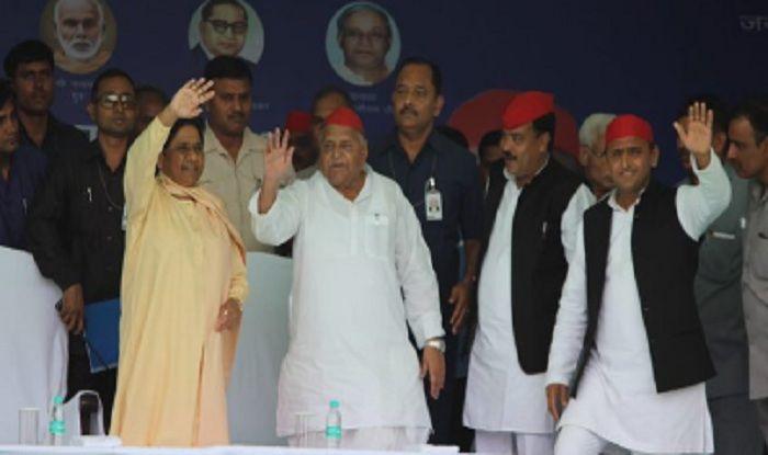 Mulayam, Mayawati Share Stage After 25 Years; BSP Supremo Attacks PM Modi, Calls Him 'Fake OBC'