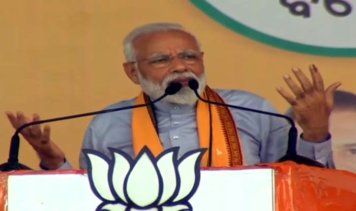 Prime Minister Narendra Modi in Balasore