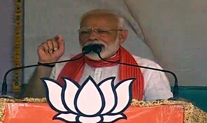 Prime Minister Narendra Modi in Kannauj