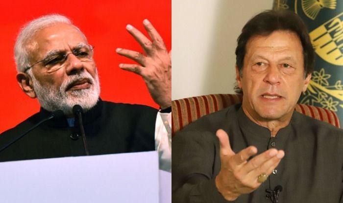 PM Narendra Modi and Pakistan PM Imran Khan
