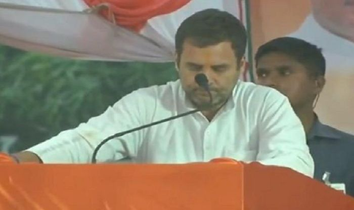 WATCH: Rahul Gandhi Halts His Speech Midway For 'Azaan' in Amethi