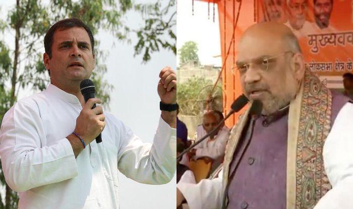 Rahul Gandhi and Amit Shah