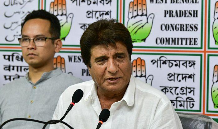 Senior Congress leader Raj Babbar