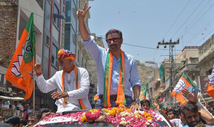 BJP leader Sunny Deol in Ajmer