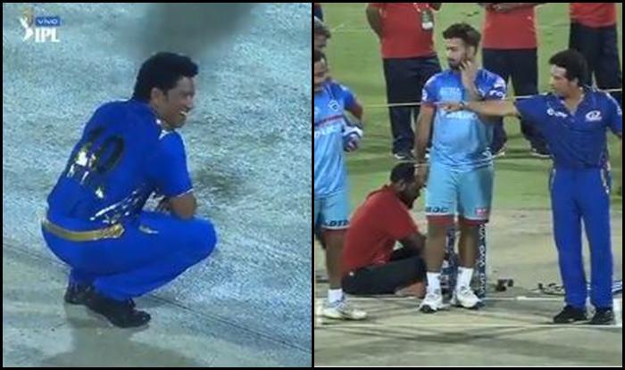 Sachin Tendulkar Ahead of Mumbai Indians Clash Against Delhi Capitals_Picture Credits- IPL media video Screenshot