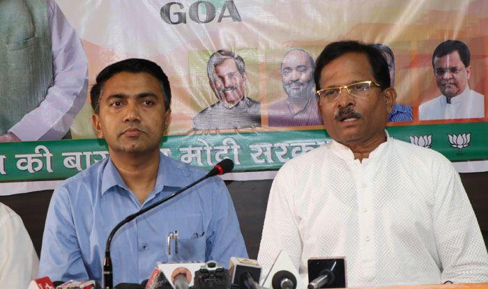 Goa CM Pramod Sawant and Shripad Naik