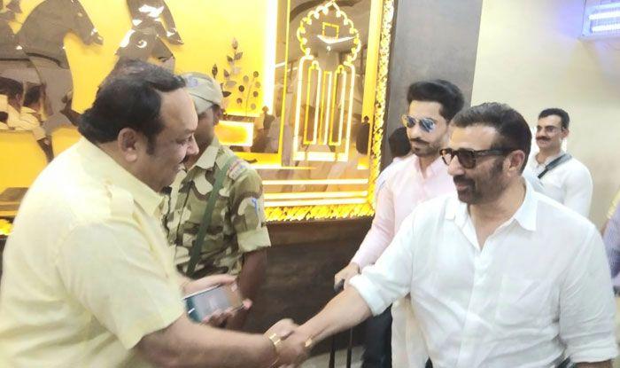 Punjab BJP chief Shwait Malik meets Sunny Deol