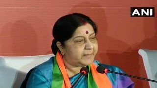 Sushma Swaraj Urges Indians to Immediately Leave Libya's Tripoli in View of Violent Clashes