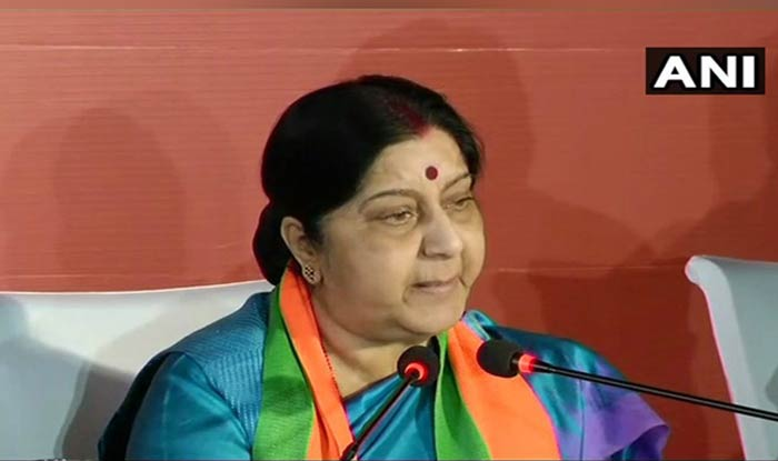 Sushma Talks Empowerment, Points Out Modi Govt First to Have 6 Women Cabinet Ministers