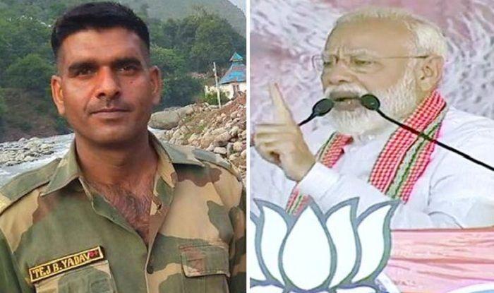 SP Changes Its Varanasi Candidate, Fields Former BSF Jawan Tej Bahadur Yadav as 'Gathbandhan' Candidate Against PM Modi