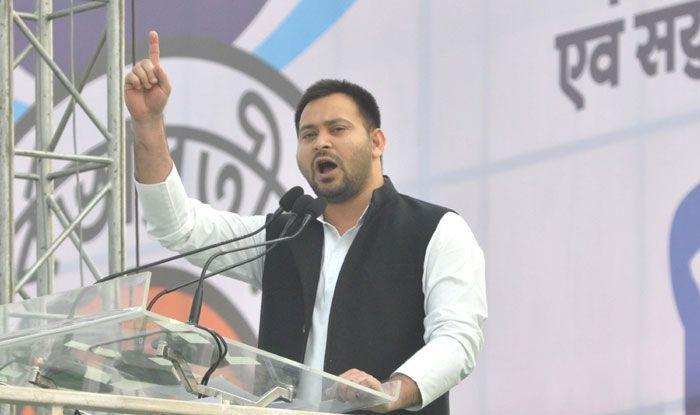 RJD leader Tejashwi Yadav