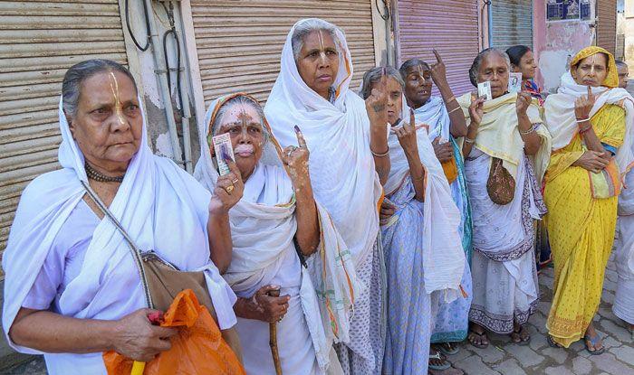 Polling in Uttar Pradesh
