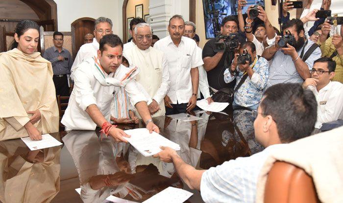 Congress leader Vaibhav Gehlot