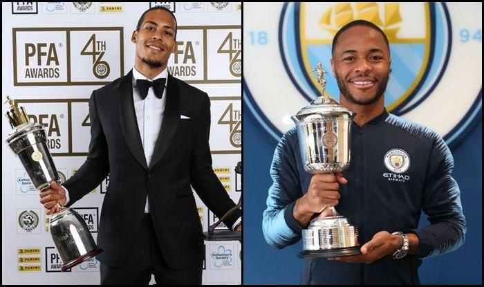 Virgil Van Dijk and Raheem Sterling big winners at PFA Awards