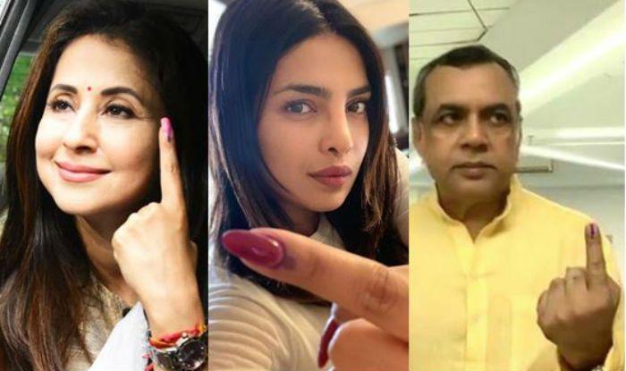 Lok Sabha Elections 2019: Priyanka Chopra, Rekha, Anupam Kher And Others Cast Their Vote