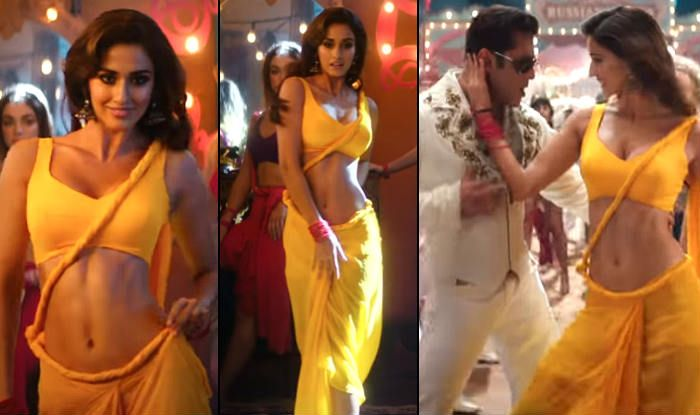 Is That Pallu a Joke? Disha Patani's Yellow Saree in Bharat's Song Triggers a Debate