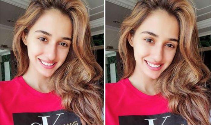 Disha Patani Amps Ups The Hotness Quotient in Pink T-Shirt And 'No Makeup' Selfie