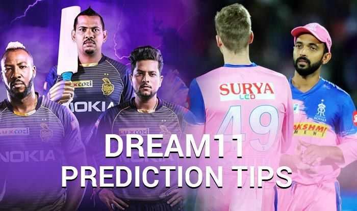 IPL 2019, KKR vs RR, Dream XI Predictions, Today Match Predictions,Today Match Tips, Today Match Playing xi, KKR playing xi, RR playing xi, dream 11 guru tips, Dream11 Predictions for today match, ipl KKR vs RR match Predictions, online cricket betting tips, cricket tips online, dream 11 team, my team 11, dream11 tips, Indian Premier League