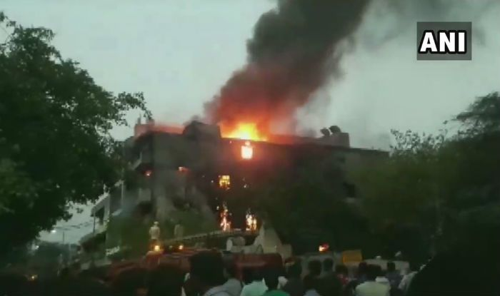 Fire Breaks Out at Chemical Factory in Delhi's Jhilmil Industrial Area