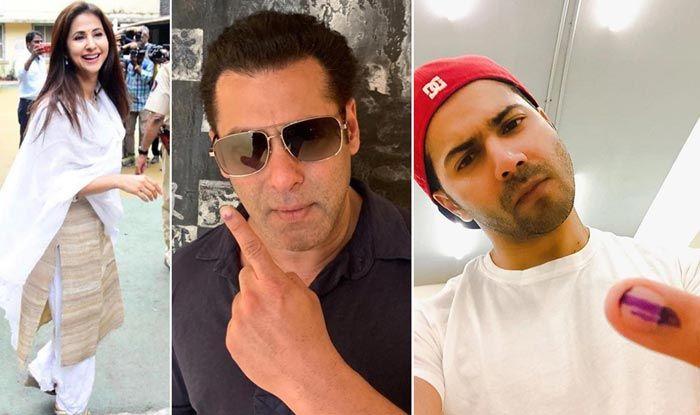 Lok Sabha Elections 2019: Bollywood Celebs Cast Their Vote in Mumbai