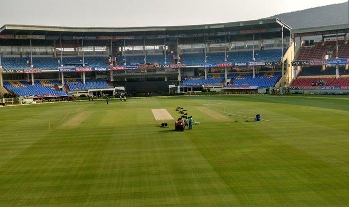 ACA-VDCA Cricket Stadium at Visakhapatnam. Picture Credit- twitter.com- Google