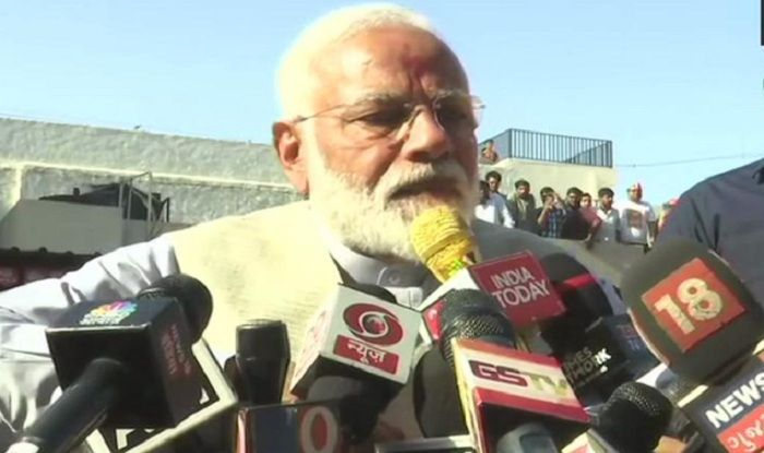 Terrorism's Weapon is IED, Democracy's Strength is Voter ID: PM Modi After Casting Vote in Ahmedabad's Ranip