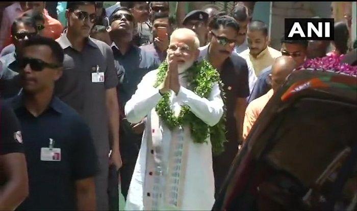 PM Modi Files Nomination From Varanasi
