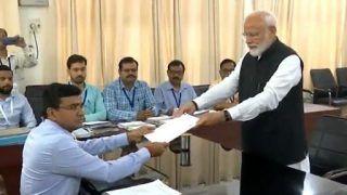 प्रधानमंत्री नरेन्द्र मोदी ने वाराणसी लोकसभा सीट के लिए किया नामांकन, देखें VIDEO