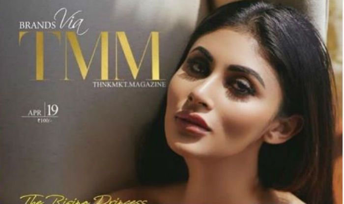 Mouni Roy Sizzles in Black Off-Shoulder Dress as She Poses For Fashion Magazine Cover