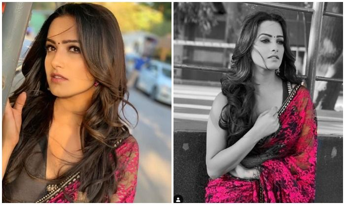 Anita Hassanandani Looks Stunning in Hot Pink Saree And Black Strap Blouse, Pics Will Wash Away Your Mid-Week Blues