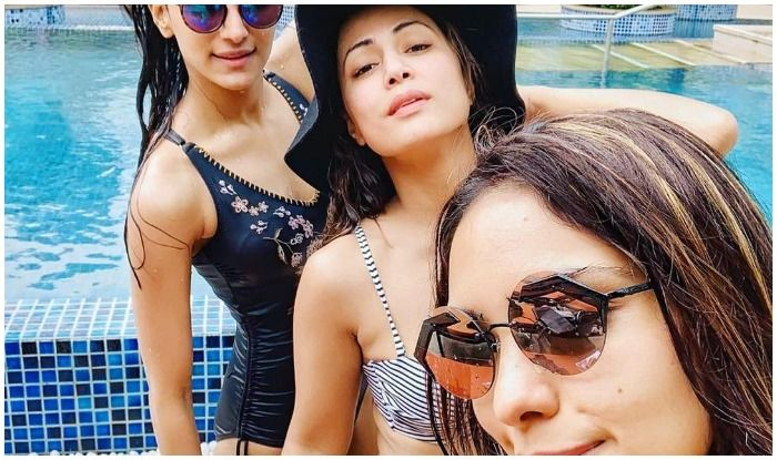Hina Khan, Erica Fernandes And Pooja Banerjee Break Internet With Latest Pool Pic