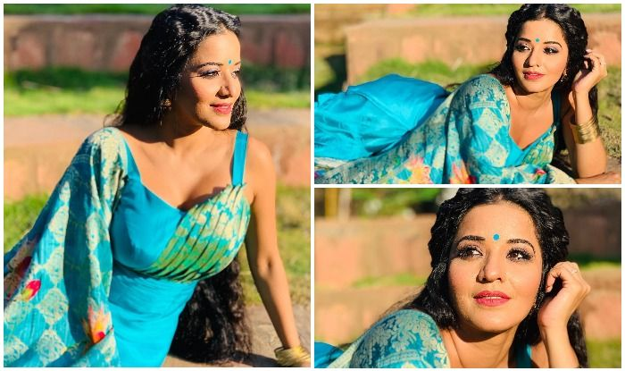 Monalisa's Viral Pictures of Soaking up Moday Morning Sun Sets Fans Hearts Aflutter