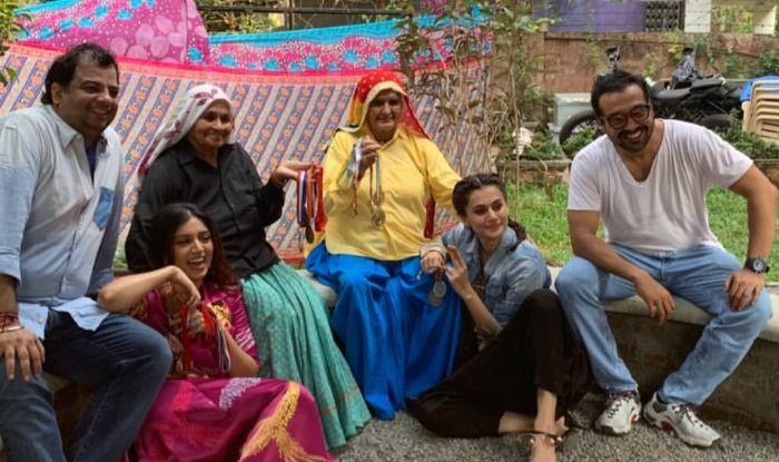 Taapsee Pannu Shares Sneak-Peek of the inspiring stories of 'shooter-daadis'