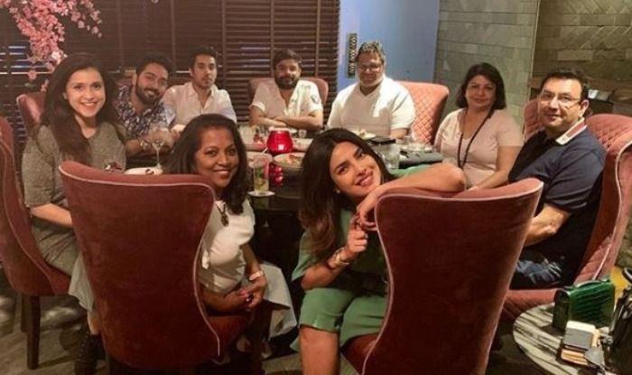 Priyanka Chopra with family