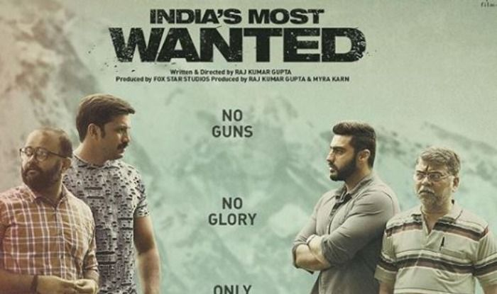 Arjun Kapoor in India's Most Wanted