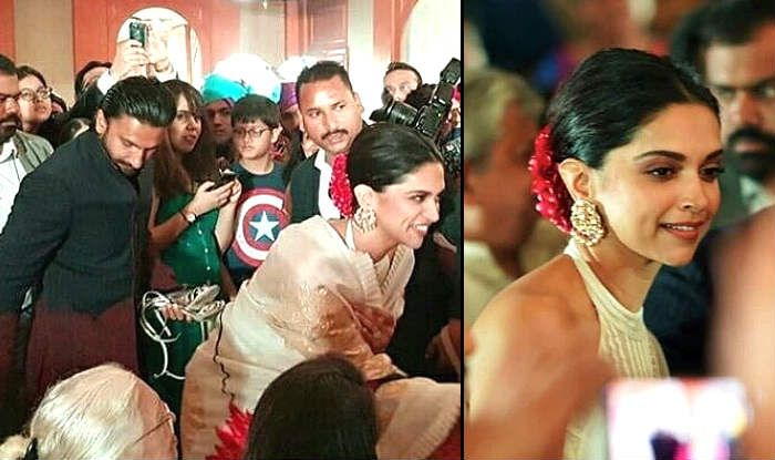 Ranveer Singh Holds Deepika Padukone's Heels And Gives us New Reason to Adore Their Relationship