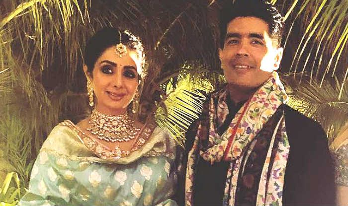 Manish Malhotra Remembers Sridevi After Kalank's Release, Says 'We'd be Discussing Her Look as Bahaar Begum Today'