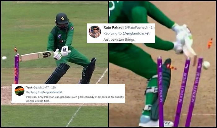 Eng vs Pak: Shoaib Malik TROLLED After Bizarre Hit-Wicket During 4th ODI Between England And Pakistan | SEE POSTS