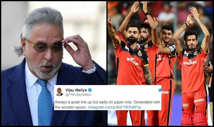 Vijay Mallya IPL 2019 RCB