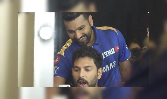 Rohit Sharma Yuvraj Singh MI vs CSK IPL 2019 Finals