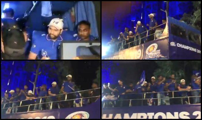 Champions Parade MI v CSK CSK v MI IPL 2019