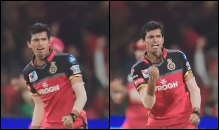 Wriddhiman Saha Navdeep Saini RCB vs SRH IPL 2019