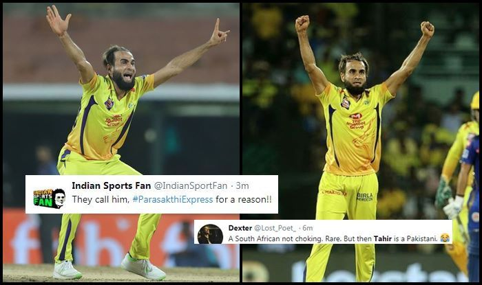 Imran Tahir MI vs CSK IPL 2019