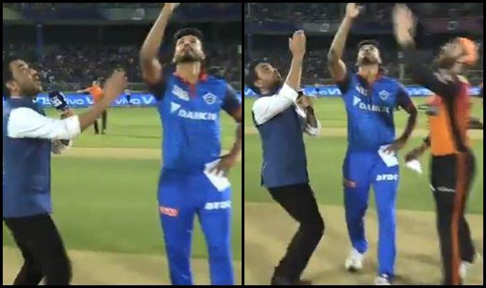 SRH vs DC IPL 2019 Shreyas Iyer